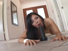 Cum Drinker Gets Drilled Hard By A Guy With Erect Dick In The Living Room