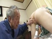 Old Man Pounded Young Ass