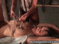 Clothespins & Stuffed Mouths bdsm flick 7 by bondagedev