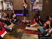 Amateur Swinger Couples Having An Orgy In The Playboy House