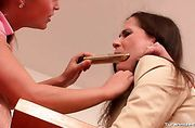 Teacher gagged and abused by schoolgirls