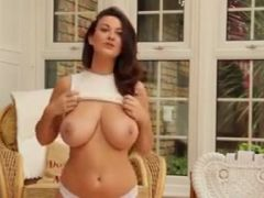 Joey Fisher Strips Nude In The Conservatory