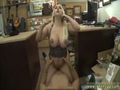Blowjob blonde swallow deepthroat Make that money!
