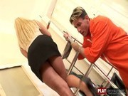 Workers compensation Kassey_ Anal, Blonde, Double Penetrations, Facial, Swallow, Threesomes