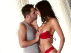 brunette love licking vagina and fucking