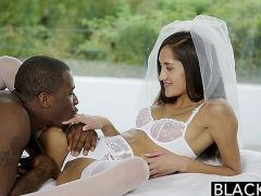 BLACKED Girlfriend Chloe Amours First T