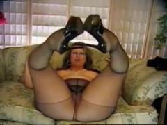 Pantyhosed Bbw Doing Dirty Things On Webcam