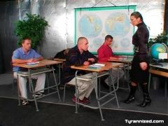Mistress is the teacher of this class of men