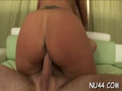 Girl is licked and banged