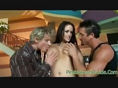 Double Penetration For Carmella Bing