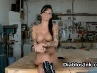 Stunning Christy Mack all naked showing part3