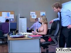 Hard Sex With Big Round Tits Nasty Office Girl (Kagney Linn Karter) video-12