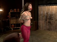 Hot Babe Tormented in Hard Bondage