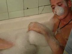 The guy in the tub